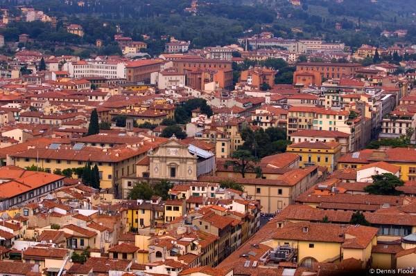 флоренция с высоты птичьего полета Города Италии: главные достопримечательности Флоренции
