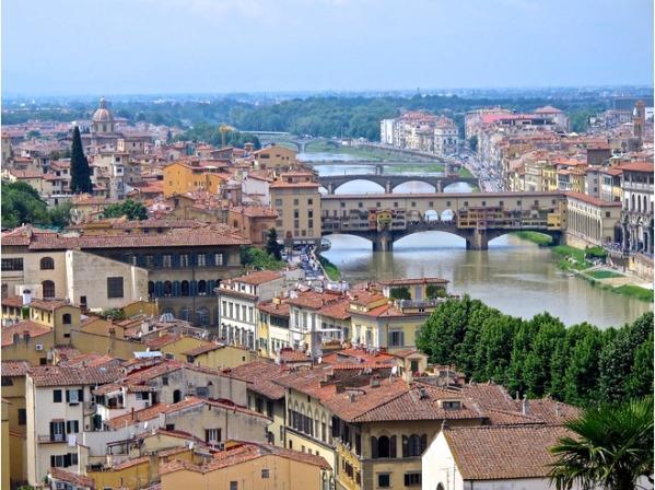флоренция мосты самые красивые города италии