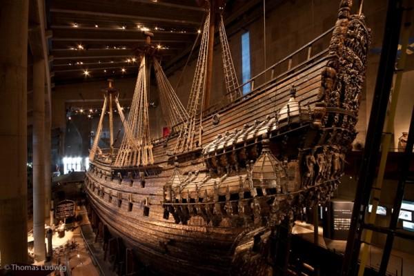 музей vasa в стокгольме старинный корабль