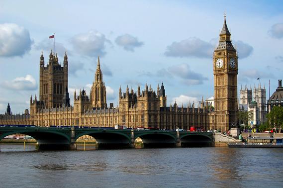 здание лондонского парламента, биг бен