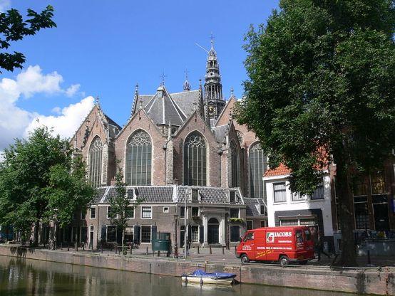амстердам церковь ауде-керк