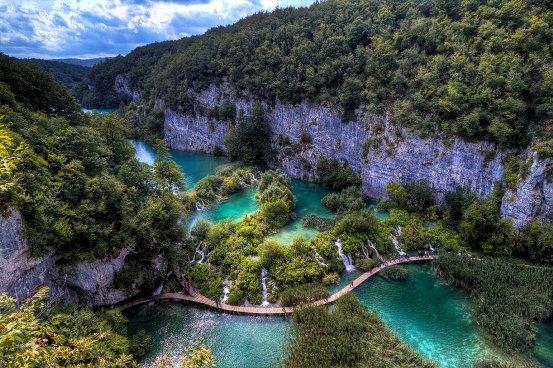 красивые места хорватии плитвицкие озера