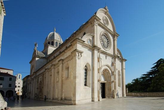 город шибеник хорватия собор святого иакова