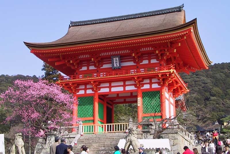 Достопримечательности Японии - Киемидзу-дэра