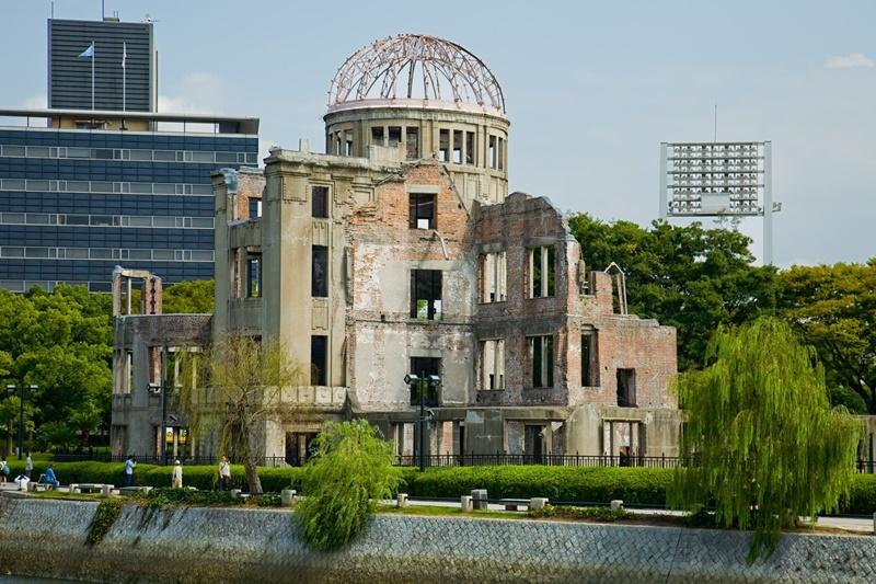 Достопримечательности Японии - мемориал мира в Хиросиме