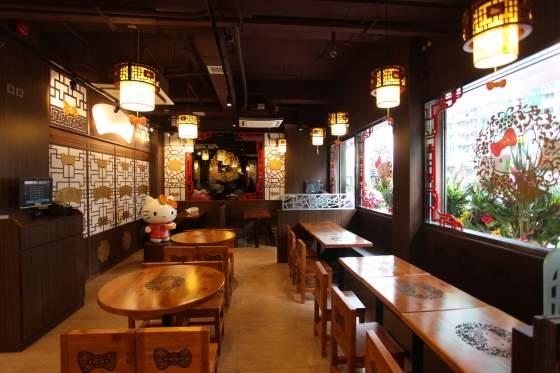 В Гонконге открылся ресторан Hello Kitty-2