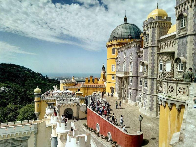 Красивые города Португалии: Синтра