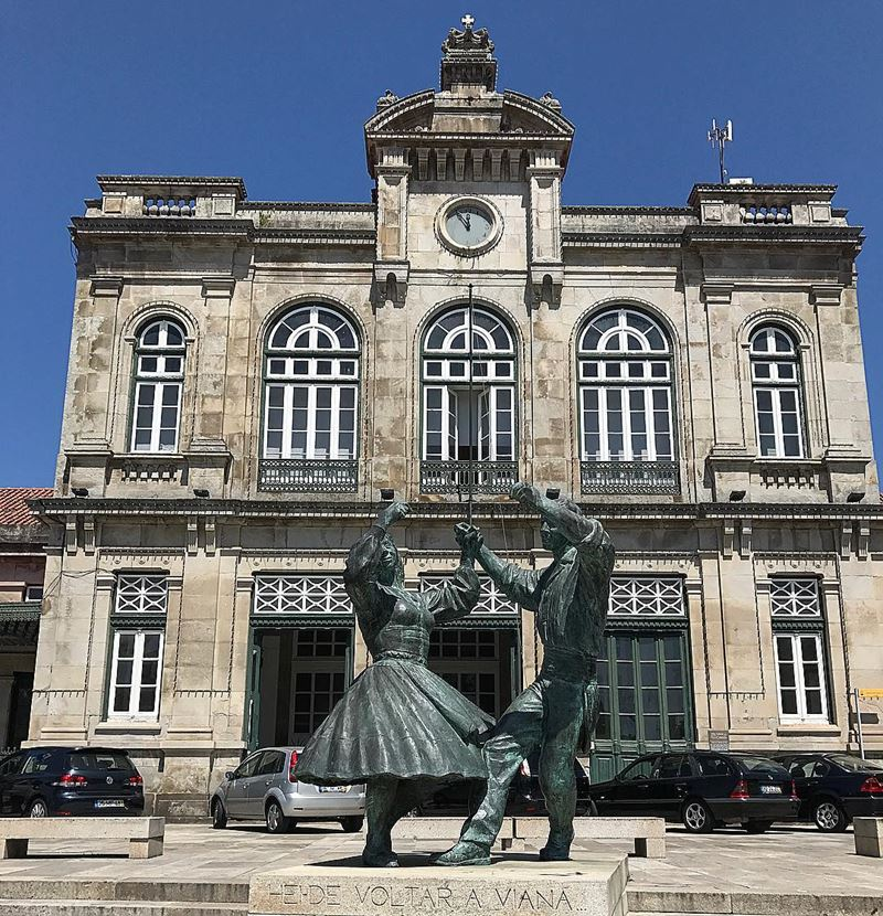 Красивые города Португалии: Виана-Ду-Каштелу