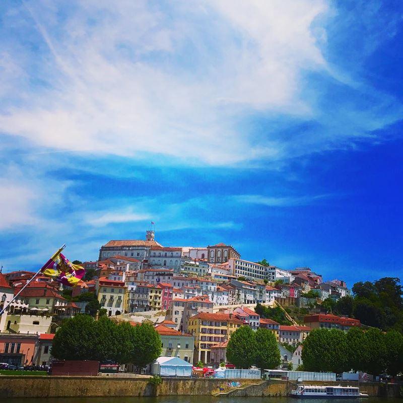 Красивые города Португалии: Коимбра