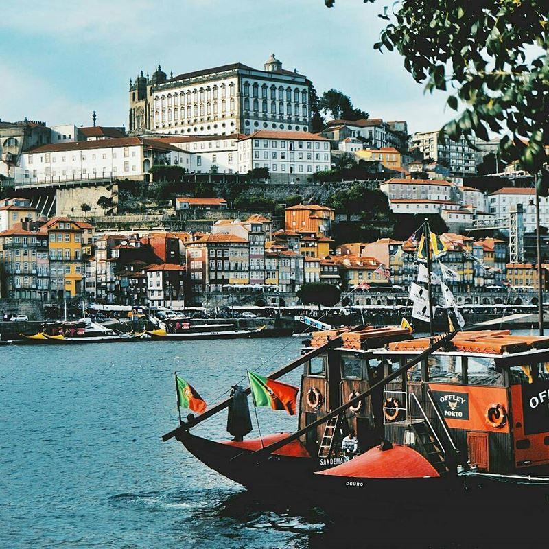 Красивые города Португалии: Порту