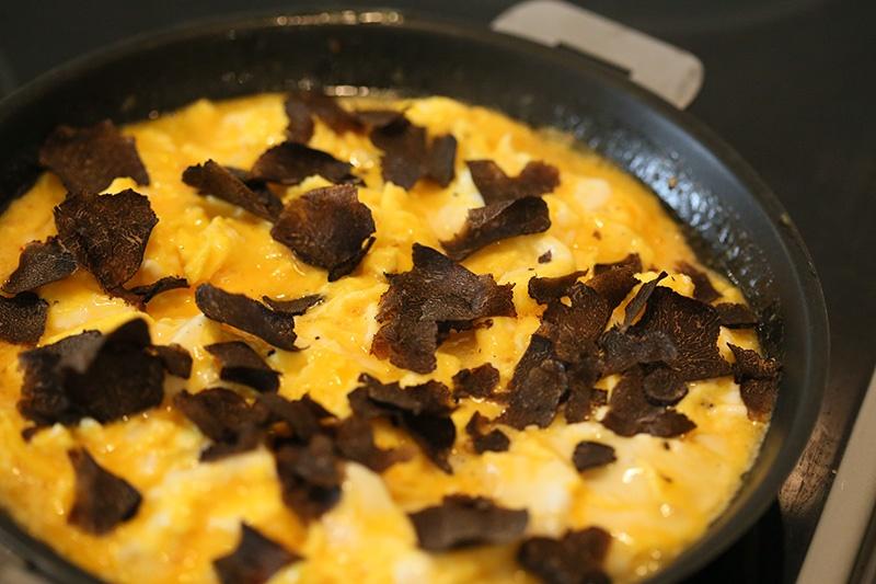 10 блюд Прованса: омлет с трюфелями