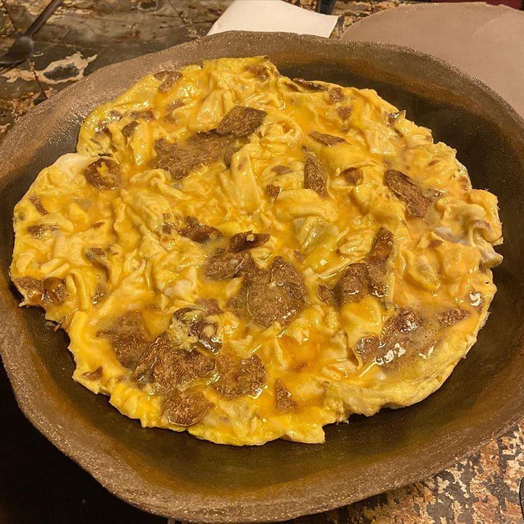 Блюда Прованса: кухня Лазурного берега и Юга Франции - Омлет с трюфелями