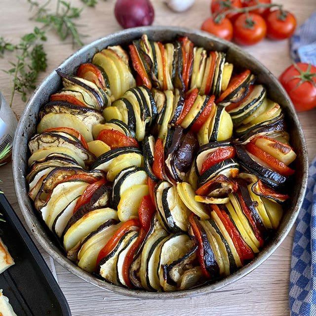 Блюда Прованса: кухня Лазурного берега и Юга Франции - Рататуй