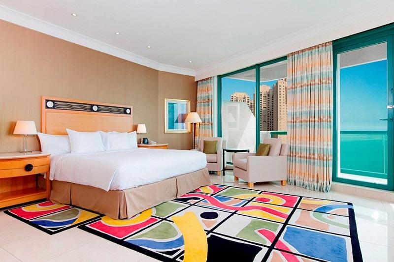 hilton dubai jumeirah resort номер