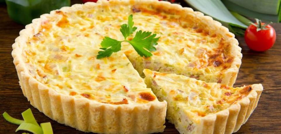 Лотарингский киш – сытная классика французской кухни