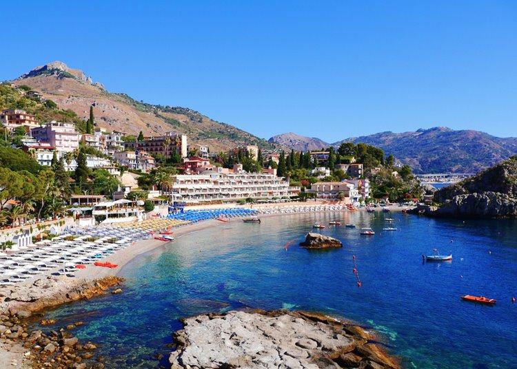 Лучший пляжный отдых в Италии: Таормина