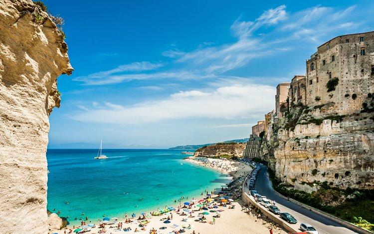 Лучший пляжный отдых в Италии: Тропеа