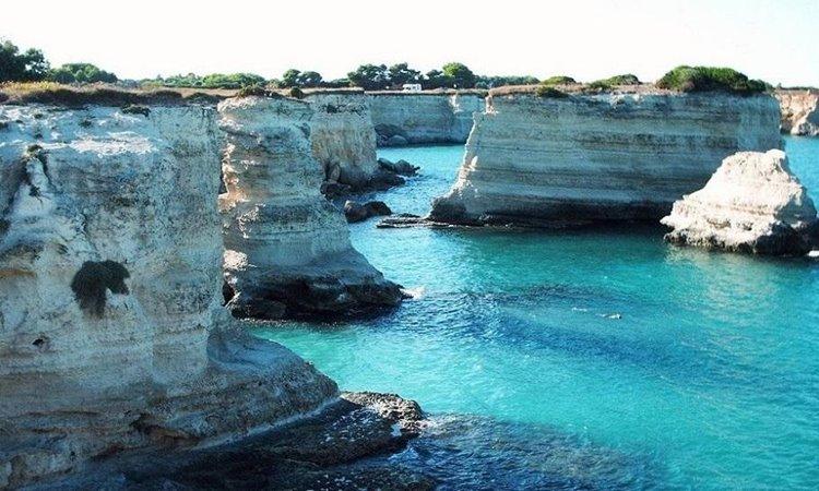 Лучший пляжный отдых в Италии: Торре-Сант-Андреа, Апулия