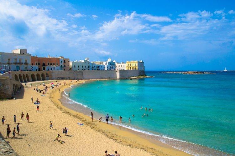 Лучший пляжный отдых в Италии: Галлиполи, Лечче, Апулия