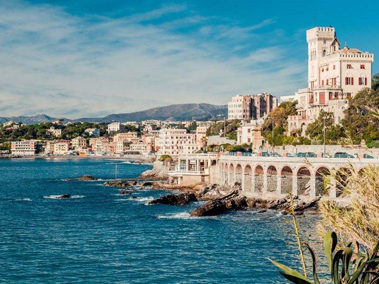 Лучший пляжный отдых в Италии: Лигурийское побережье, Генуя