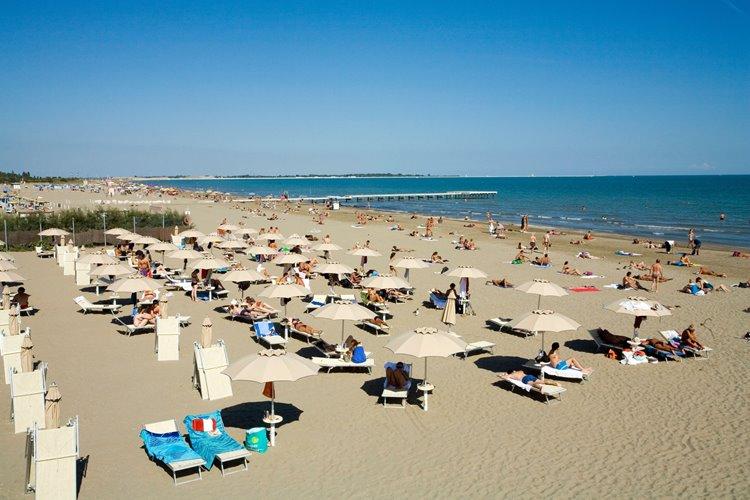 Лучший пляжный отдых в Италии: остров Лидо