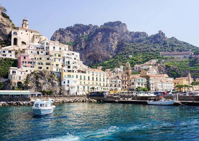 Лучший пляжный отдых в Италии: Амальфитанское побережье