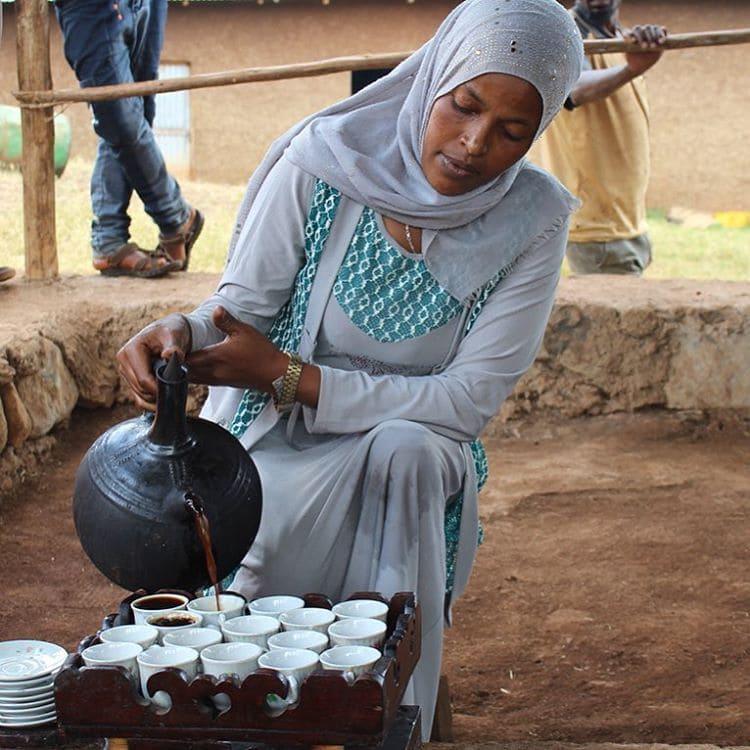 Происхождение и история кофе: кофейная церемония в Эфиопии