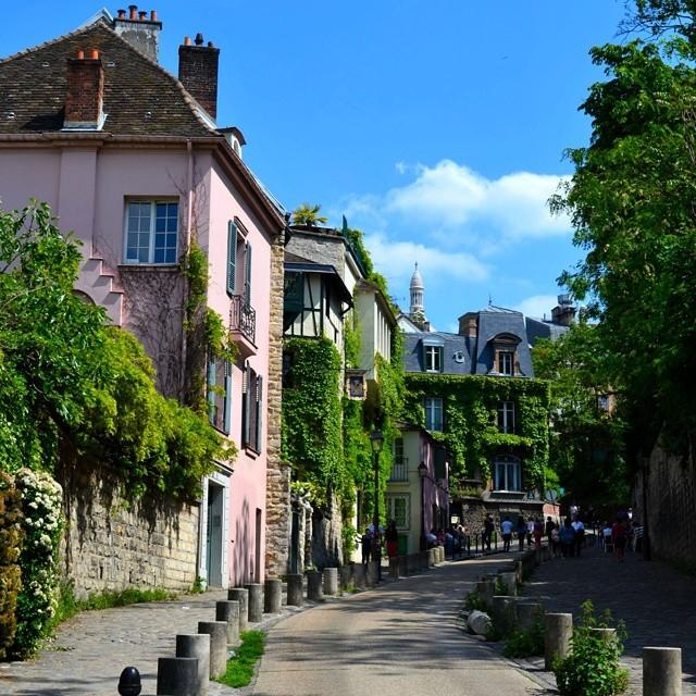 Улицы и кафе Парижа в Instagram 10