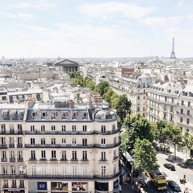 Улицы и кафе Парижа в Instagram 11