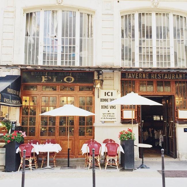 Улицы и кафе Парижа в Instagram 12