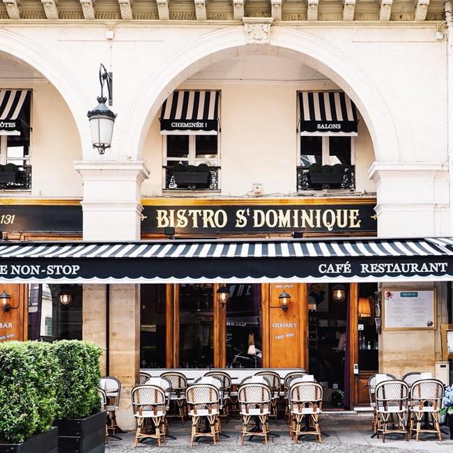 Улицы и кафе Парижа в Instagram 13