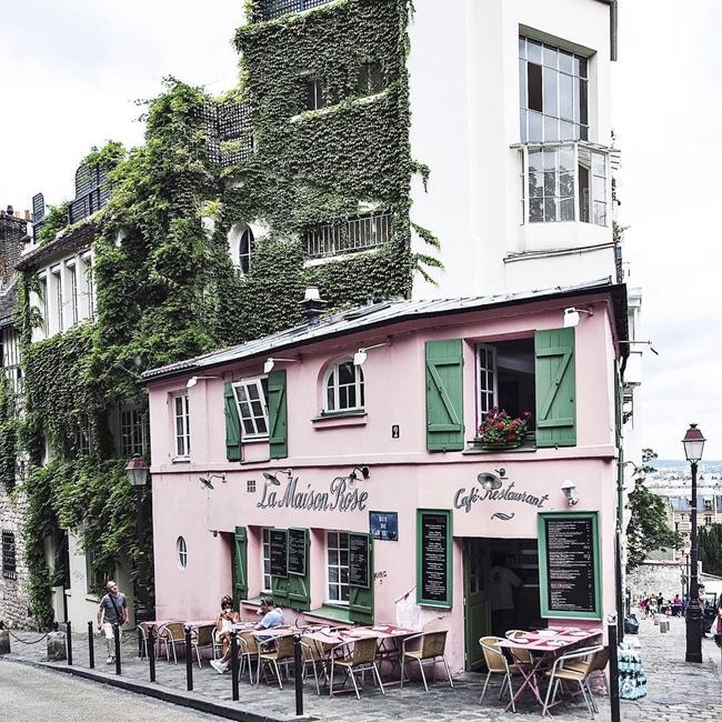 Улицы и кафе Парижа в Instagram 14