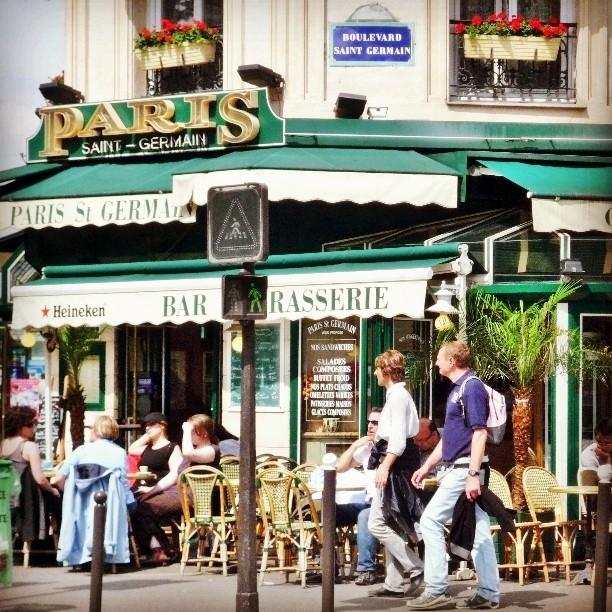 Улицы и кафе Парижа в Instagram 15