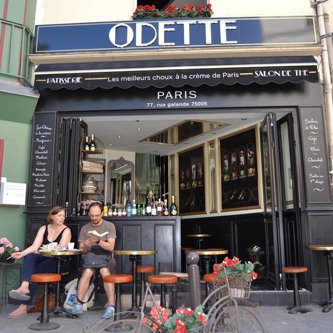Улицы и кафе Парижа в Instagram 17