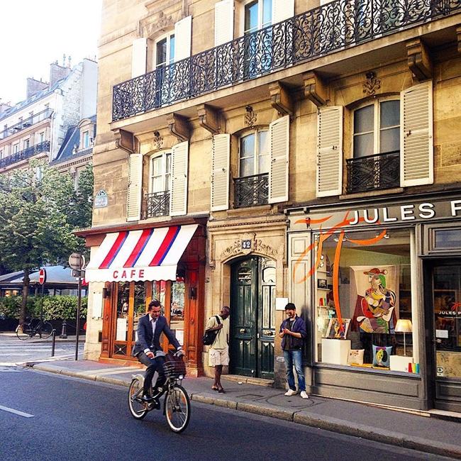 Улицы и кафе Парижа в Instagram 18