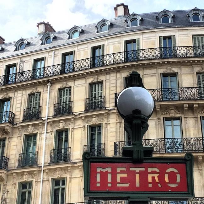 Улицы и кафе Парижа в Instagram 19