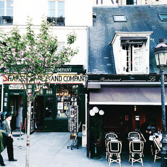 Улицы и кафе Парижа в Instagram 2