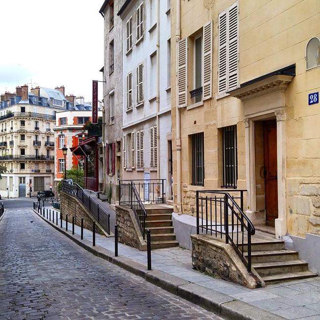Улицы и кафе Парижа в Instagram 20