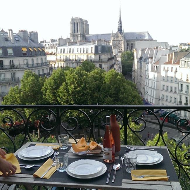 Улицы и кафе Парижа в Instagram 22