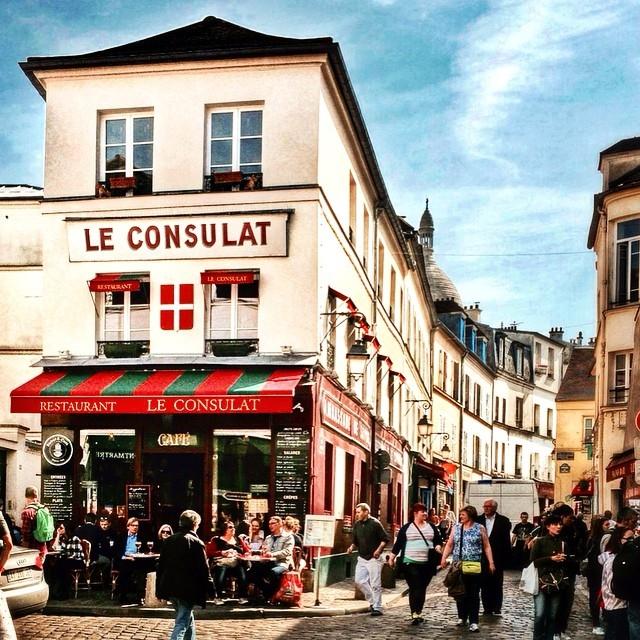 Улицы и кафе Парижа в Instagram 3
