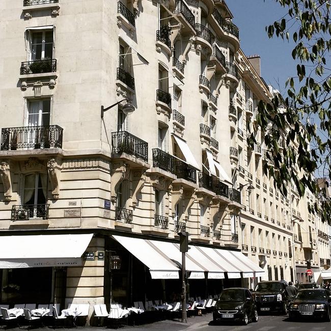 Улицы и кафе Парижа в Instagram 4