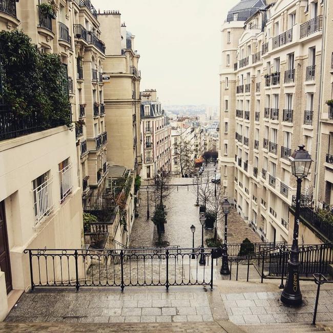 Улицы и кафе Парижа в Instagram 6