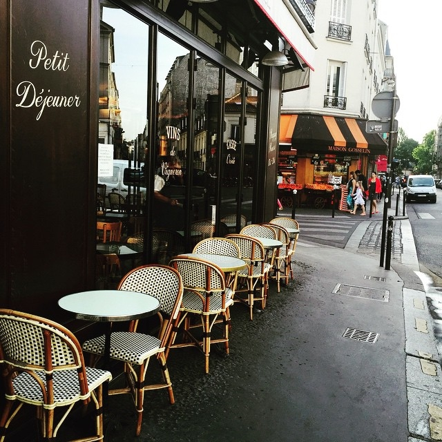 Улицы и кафе Парижа в Instagram 9