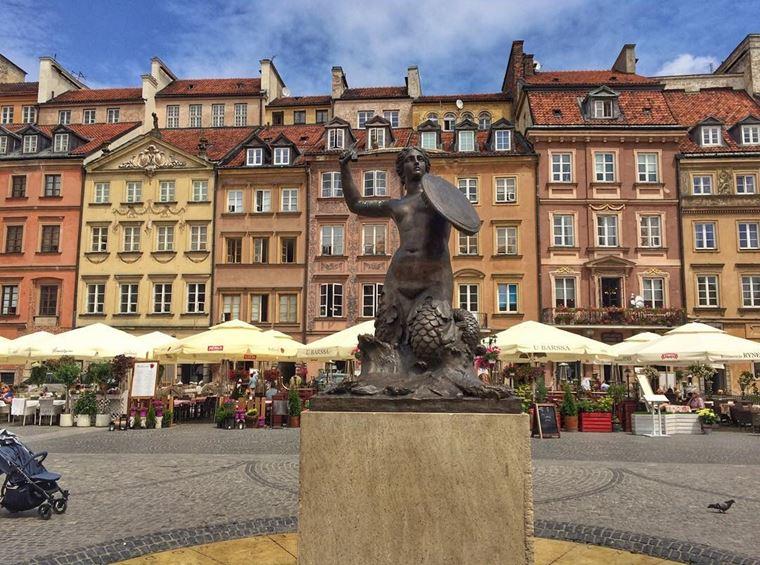 Города Польши, которые нужно посетить: Варшава