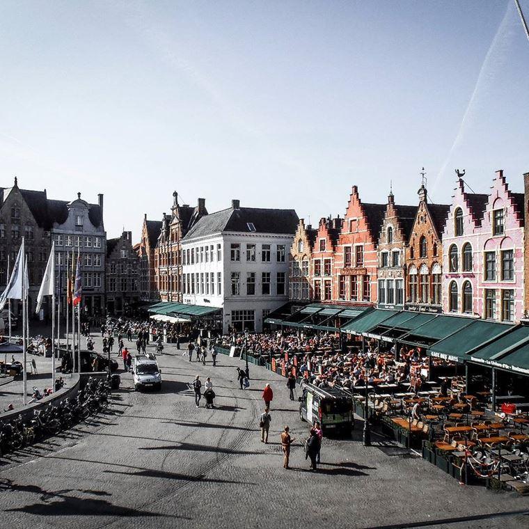Красивые и недооцененные города Европы: Брюгге