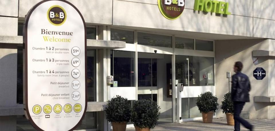 B&B Hôtels открывает новый отель в Париже