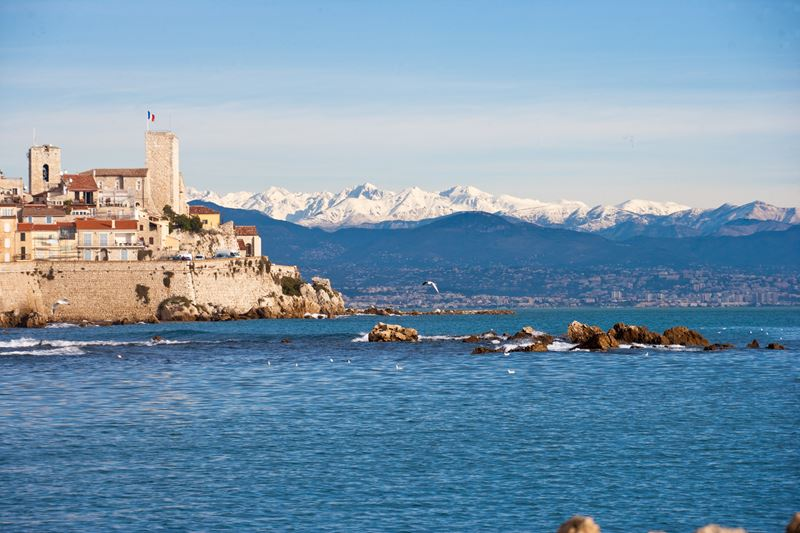 Антиб – средиземноморское пристанище писателей и художников