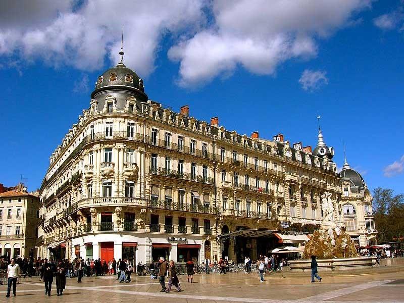 Монпелье – красивый южнофранцузский Париж