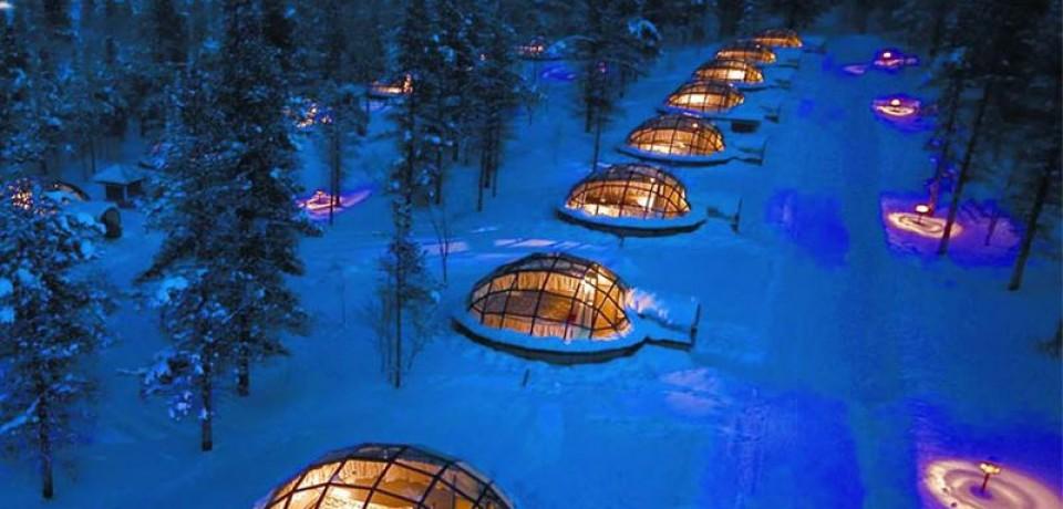 Деревня Иглу: ледяная сказка в Финляндии