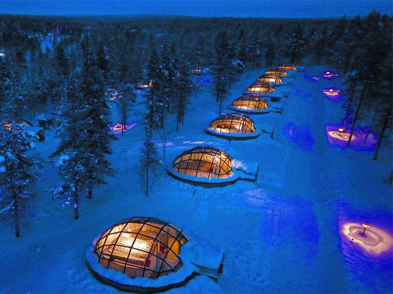Деревня Иглу, Финляндия (1)